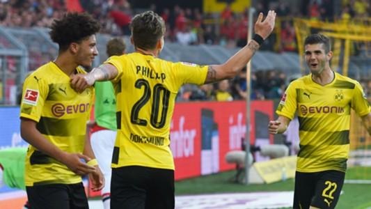 Jadon Sancho Christian Pulisic Dortmund