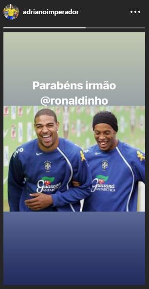 Ronaldinho aniversário
