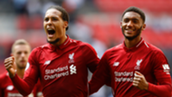 Virgil Van Dijk Joe Gomez Liverpool 2018-19