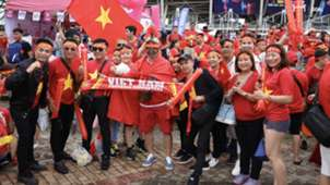 Vietnamese fans at Thammasat Stadium 5 September 2019 | Vietnam vs Thailand | World Cup qualification (AFC)
