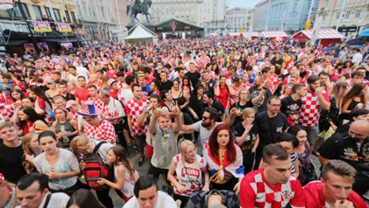 croatia nigeria fans - world cup - 16062018