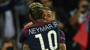 Neymar Dani Alves PSG Paris Saint-Germain