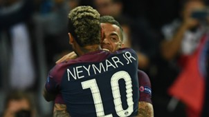 Neymar Dani Alves PSG Paris Saint-Germain