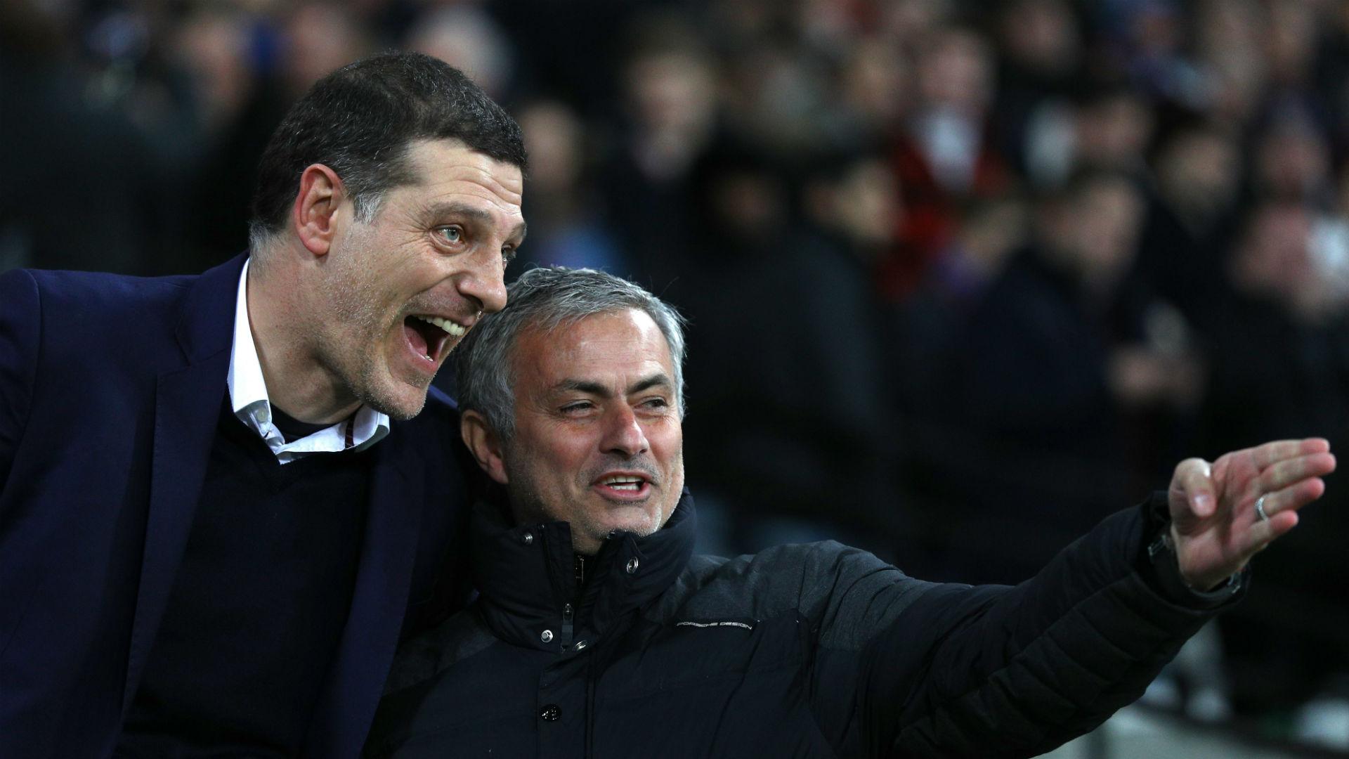 Slaven Bilic Jose Mourinho