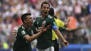 Andres Guardado Hirving Lozano Germany Mexico World Cup 2018 170618