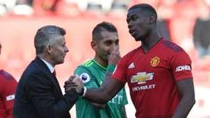 Ole Gunnar Solskjaer Paul Pogba Manchester United Watford 30032019