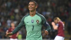 Cristiano Ronaldo Portugal European Qualifiers