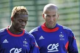 Louis Saha Zinedine Zidane