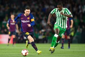 Messi Carvalho Real Betis Barcelona LaLiga