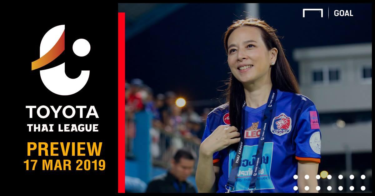 ผลการค้นหารูปภาพสำหรับ TOYOTA THAI LEAGUE PREVIEW : นัดที่ 4 (วันอาทิตย์ที่ 17 มีนาคม 2019)