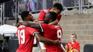 Marcus Rashford Romelu Lukaku Jesse Lingard Manchester United ICC