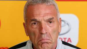 Ernst Middendorp Kaizer Chiefs December 2018