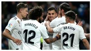 Dani Ceballos Marcelo Llorente Real Madrid Huesca LaLiga
