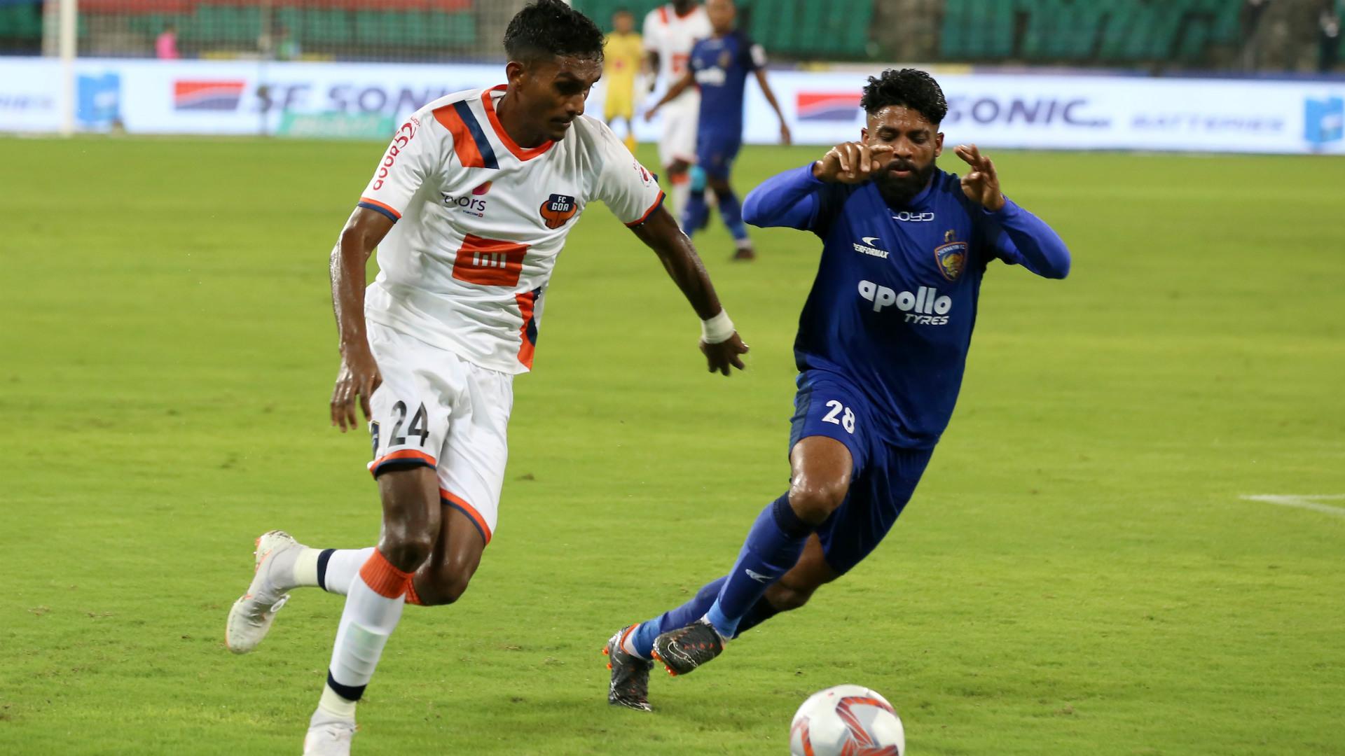 Lenny Rodrigues Germanpreet Singh Chennaiyin FC FC Goa ISL 5 10062018