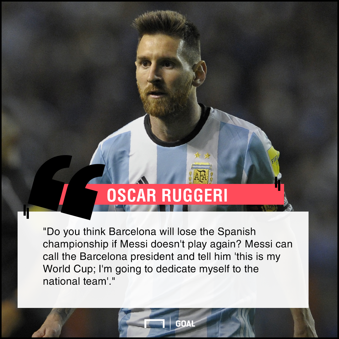 Lionel Messi stop at Barcelona and focus on World Cup