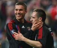 Lukas Podolski & Franck Ribery