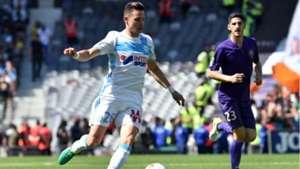 Florian Thauvin Yann Bodiger Toulouse Marseille Ligue 1 09042017