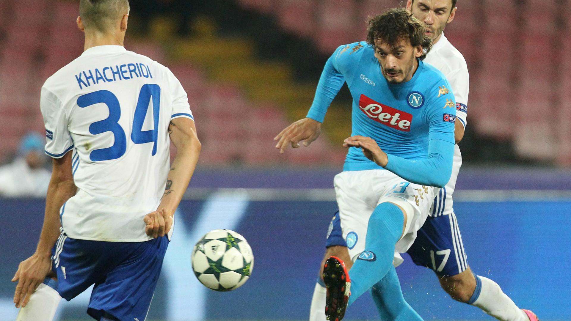 Gabbiadini Napoli Dynamo Kiev