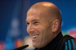 Zinedine Zidane Champions League Real Madrid