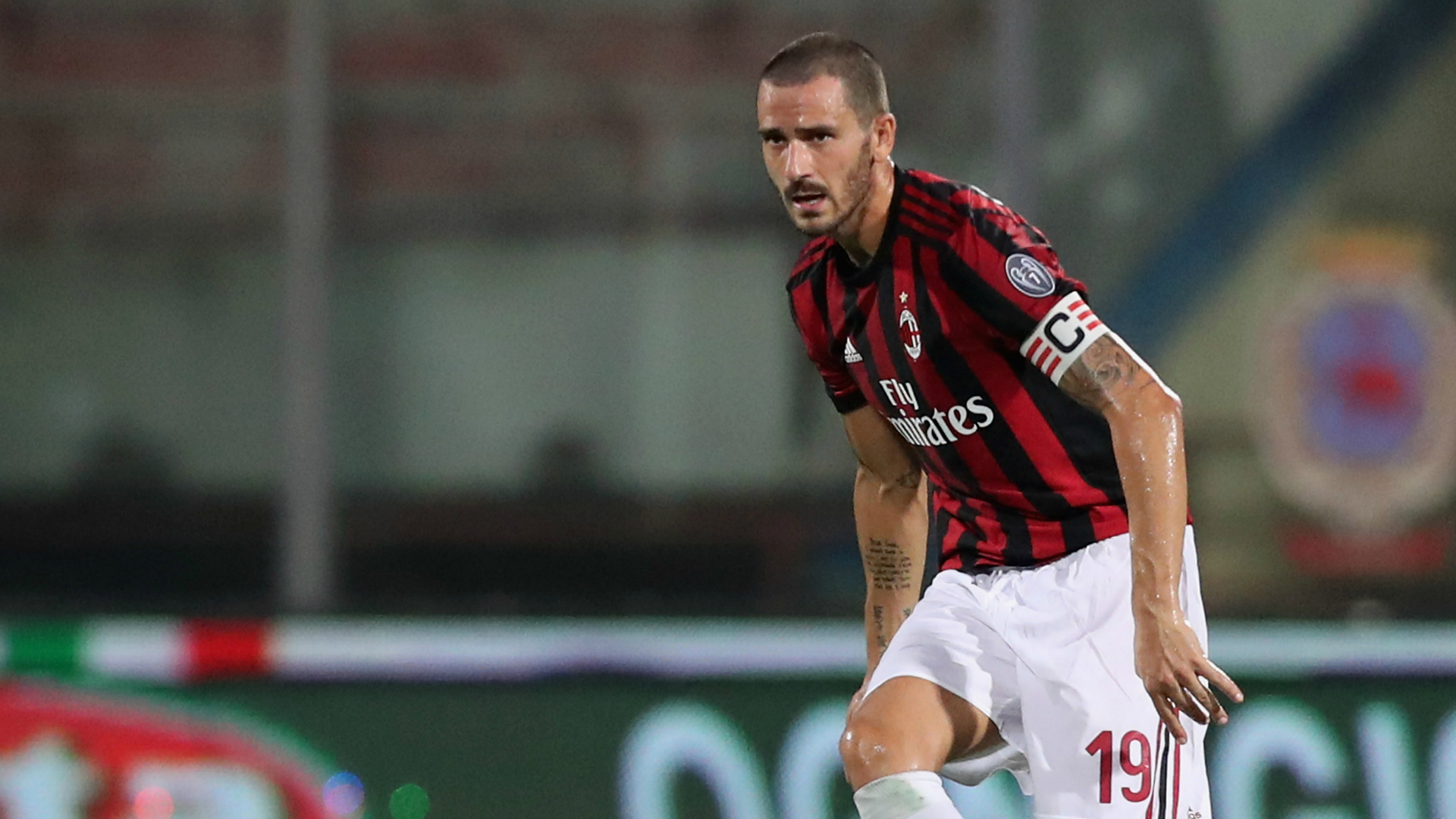Leonardo Bonucci Milan Betis Club Friendlies 08092017