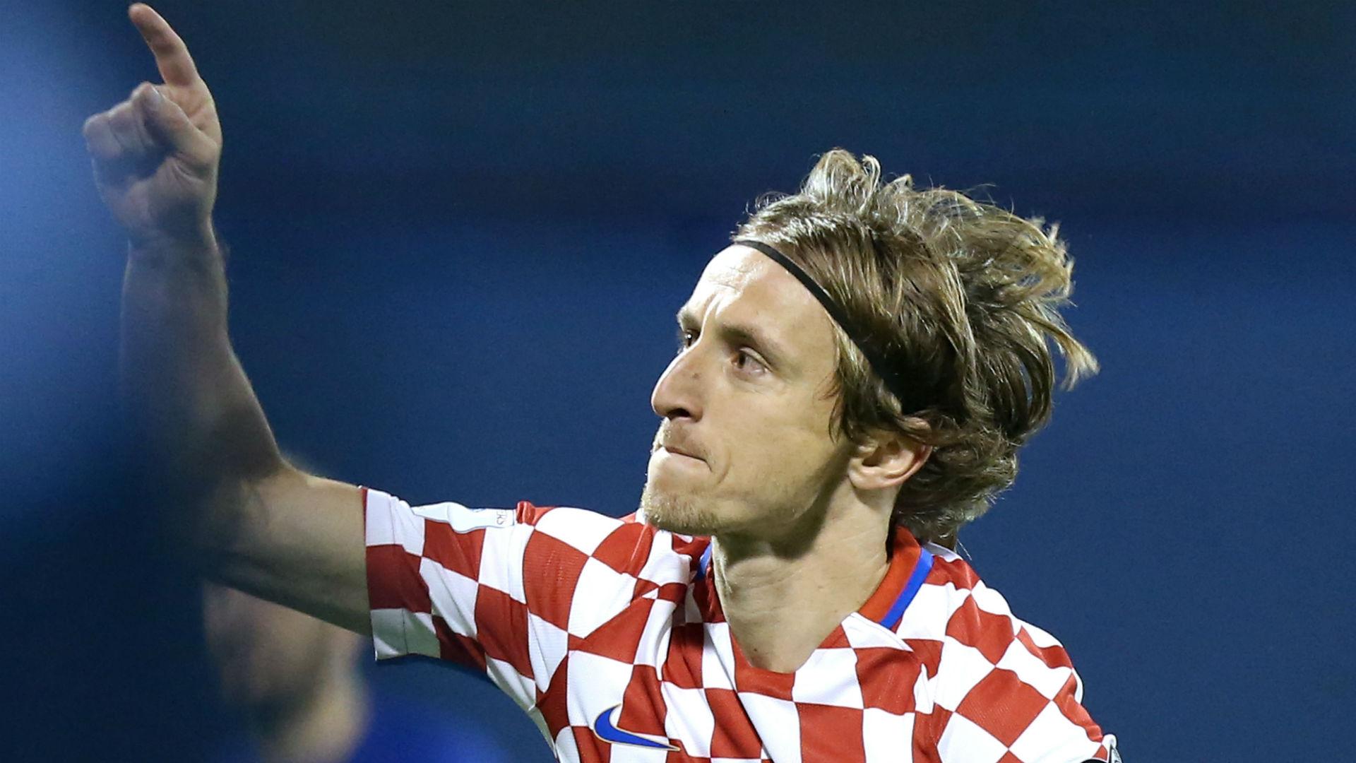 Croatia Greece WC Qualification 09112017 Modric