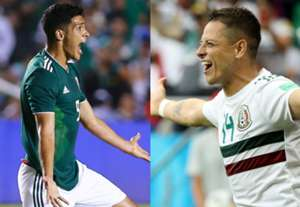 Raul Chicharito split