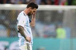 Lionel Messi Argentina Croatia World Cup