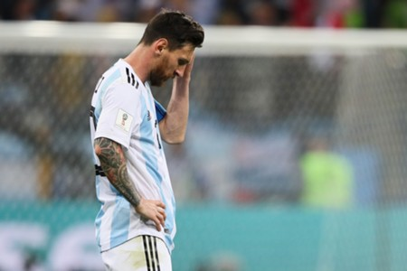 Lionel Messi Argentina Croatia World Cup
