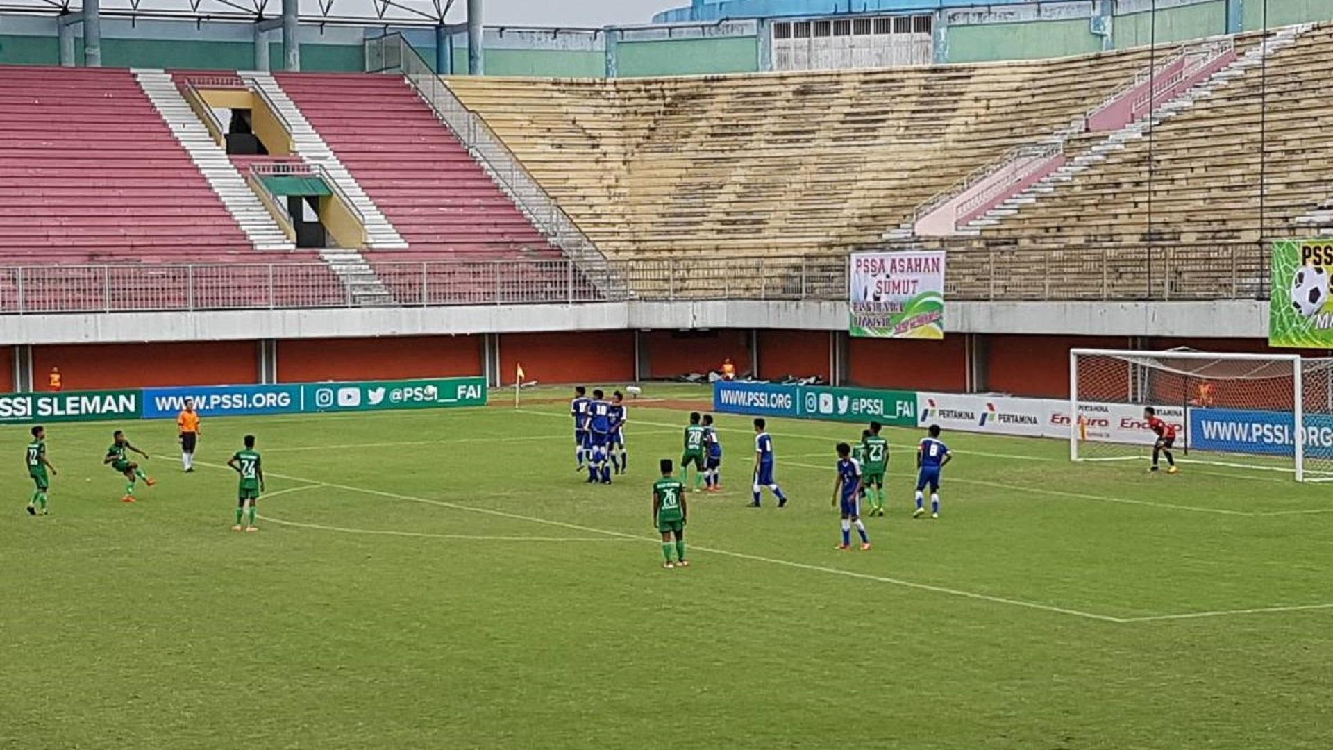 Piala Soeratin U-15 2017 | Sumatera Utara vs Jawa Barat