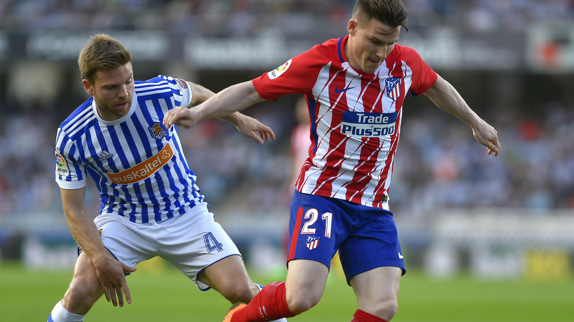 Gameiro Ilarramendi Real Sociedad Atletico Madrid LaLiga