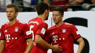 Robert Lewandowski FC Bayern Eintracht Frankfurt