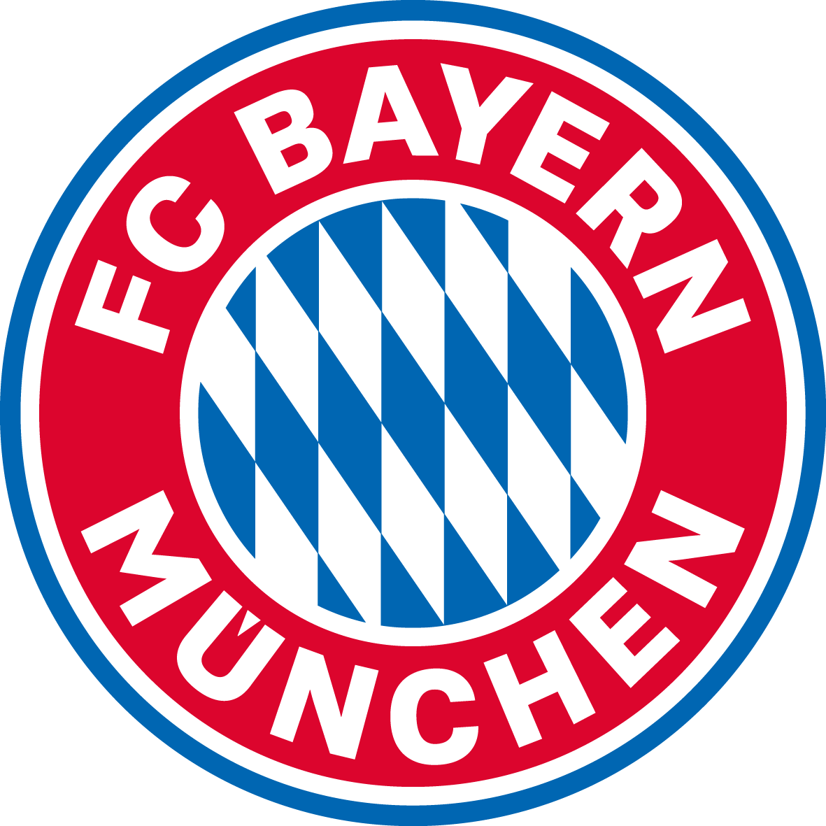 Bayern's new logo, ripped from Facebook