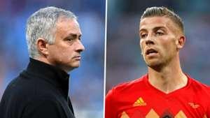 Jose Mourinho Toby Alderweireld Man Utd Belgium