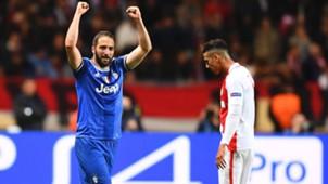 Gonzalo Higuain Monaco Juve Champions League