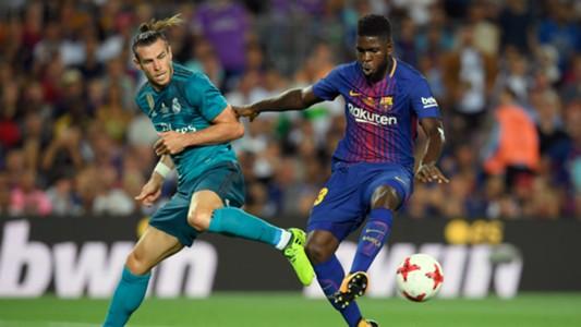 Bale Umtiti Barcelona Real Madrid Supercopa España