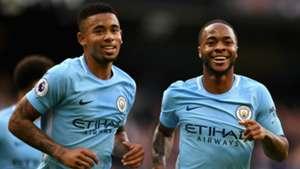 Gabriel Jesus Raheem Sterling Manchester City