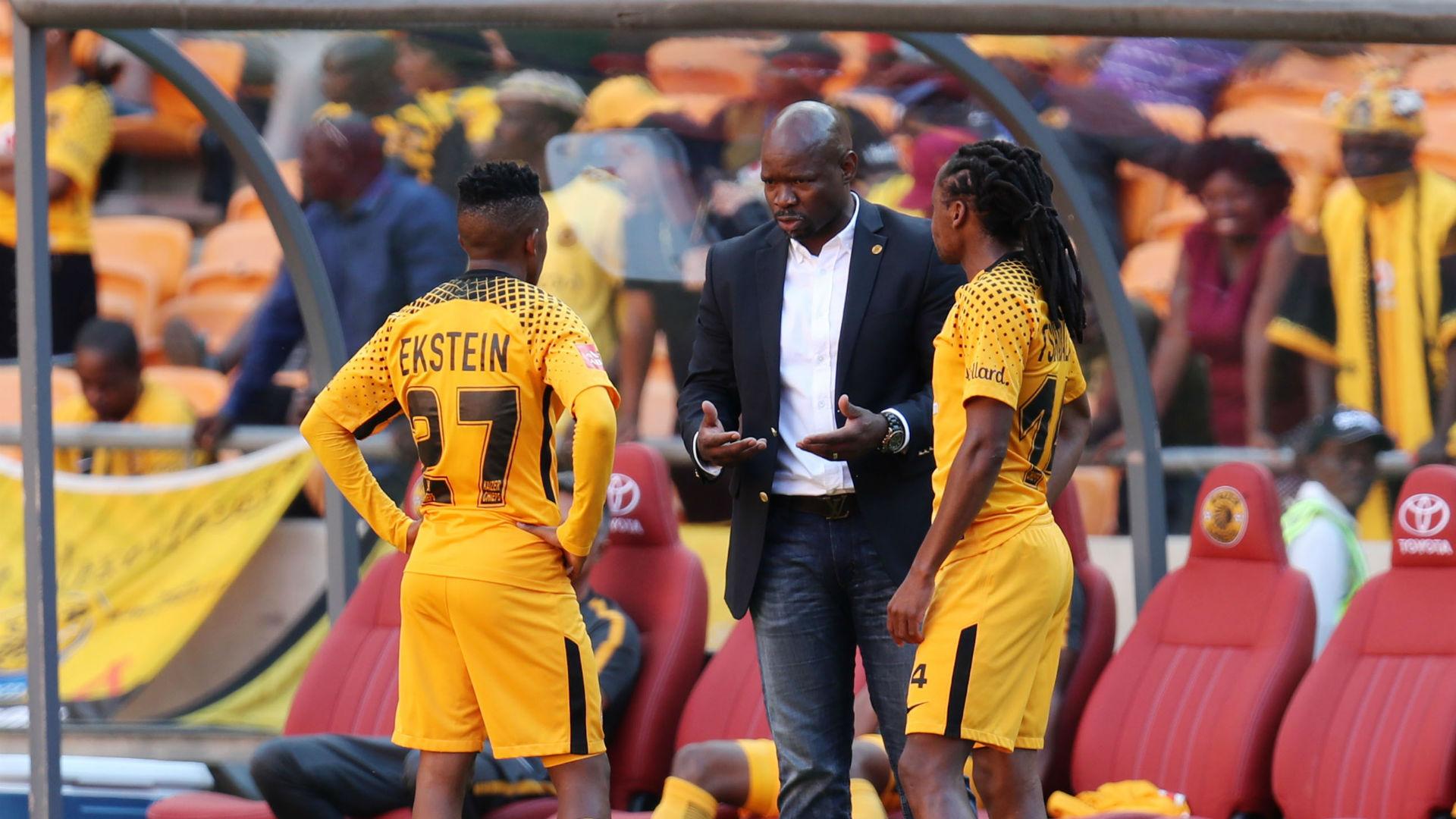 Hendrick Ekstein Steve Komphela Siphiwe Tshabalala Kaizer Chiefs April 2018
