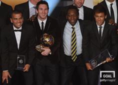 Pele Neymar Messi