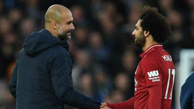Pep Guardiola Mohamed Salah