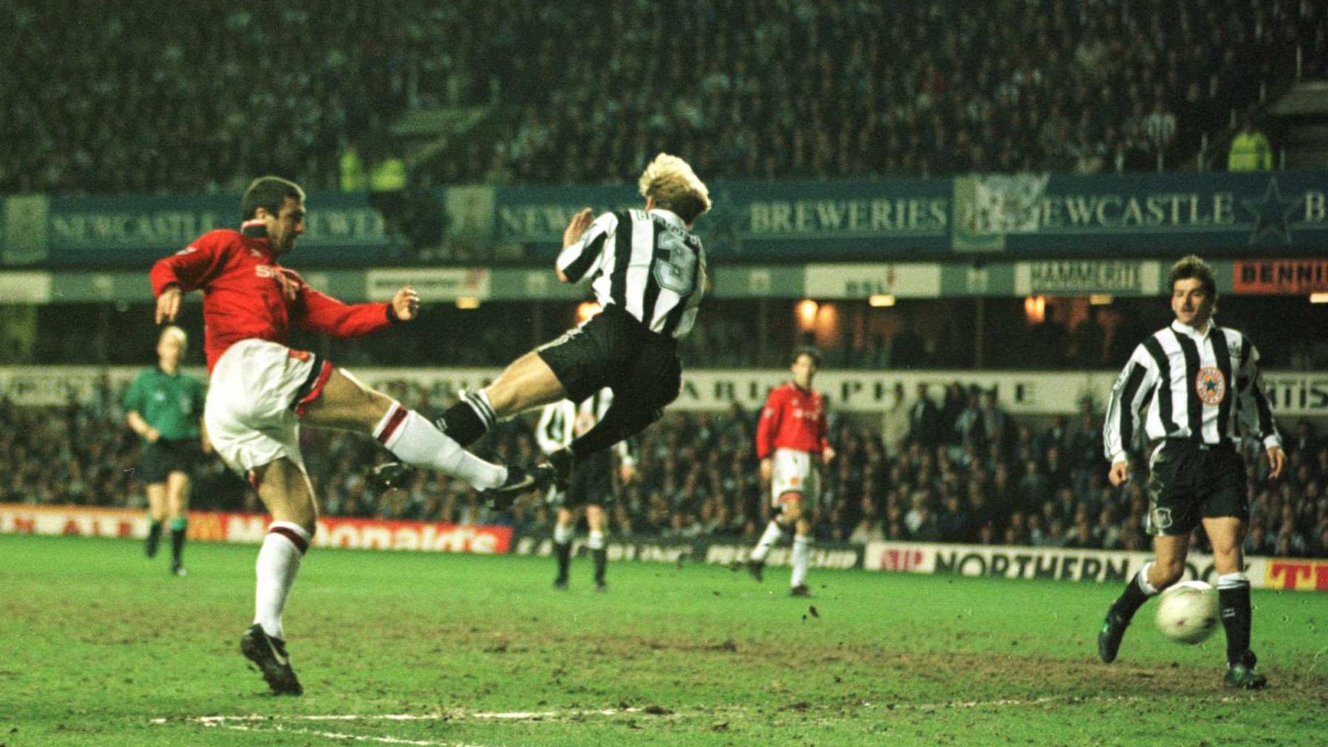 Eric Cantona Manchester United Newcastle