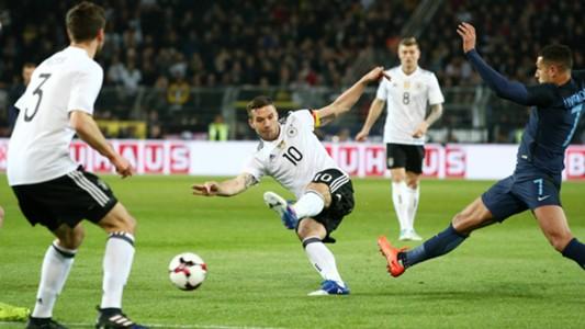 ONLY GERMANY Lukas Podolski Germany England 22032017