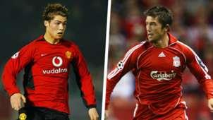 Cristiano Ronaldo Harry Kewell Split