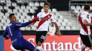 Diego Alves Rodrigo Mora Flamengo River Plate 28022018 Copa Libertadores