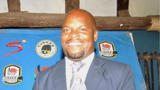 Muhoroni Youth chairman Moses Adagala CROPPED