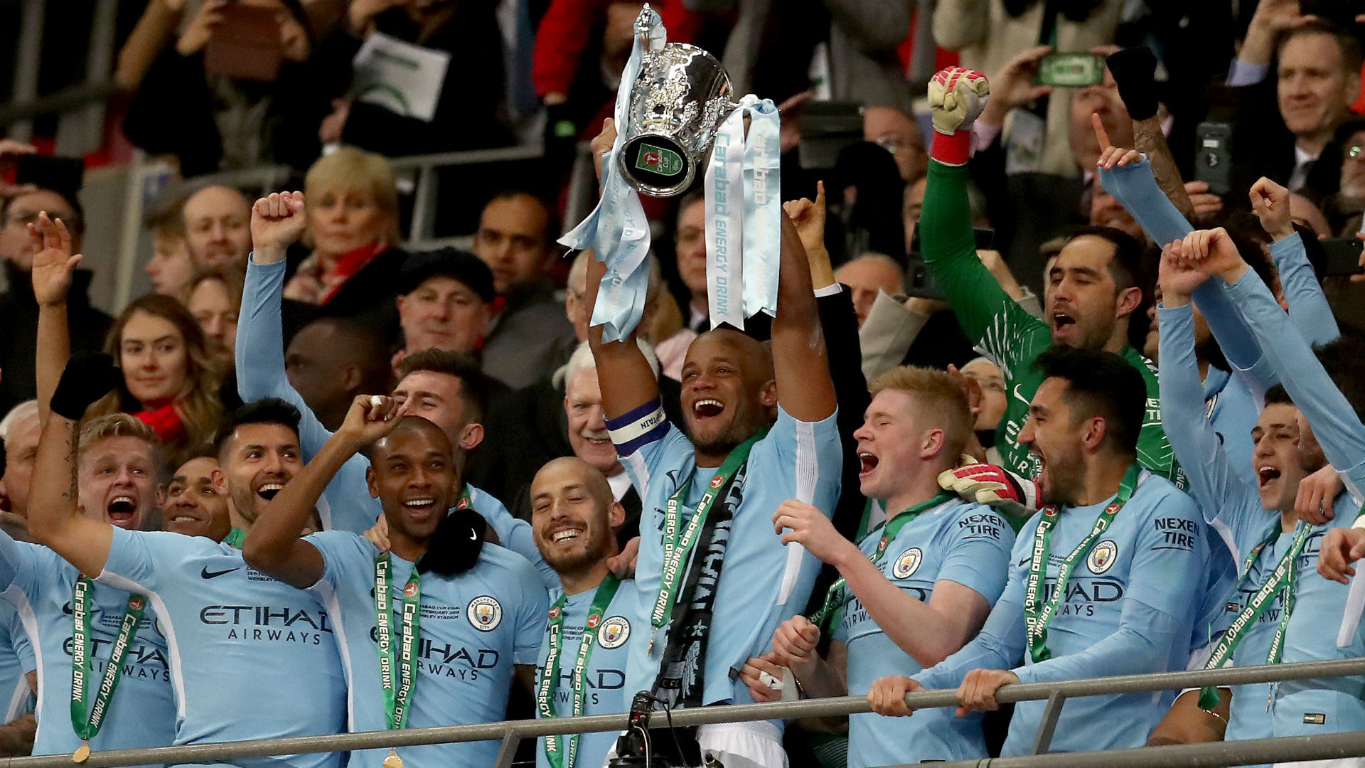Manchester City Carabao Cup 2018