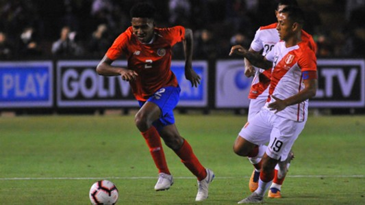 Jonathan McDonald Peru v Costa Rica Friendly 11202018