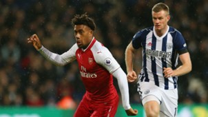 Alex Iwobi Arsenal Chris Brunt West Brom