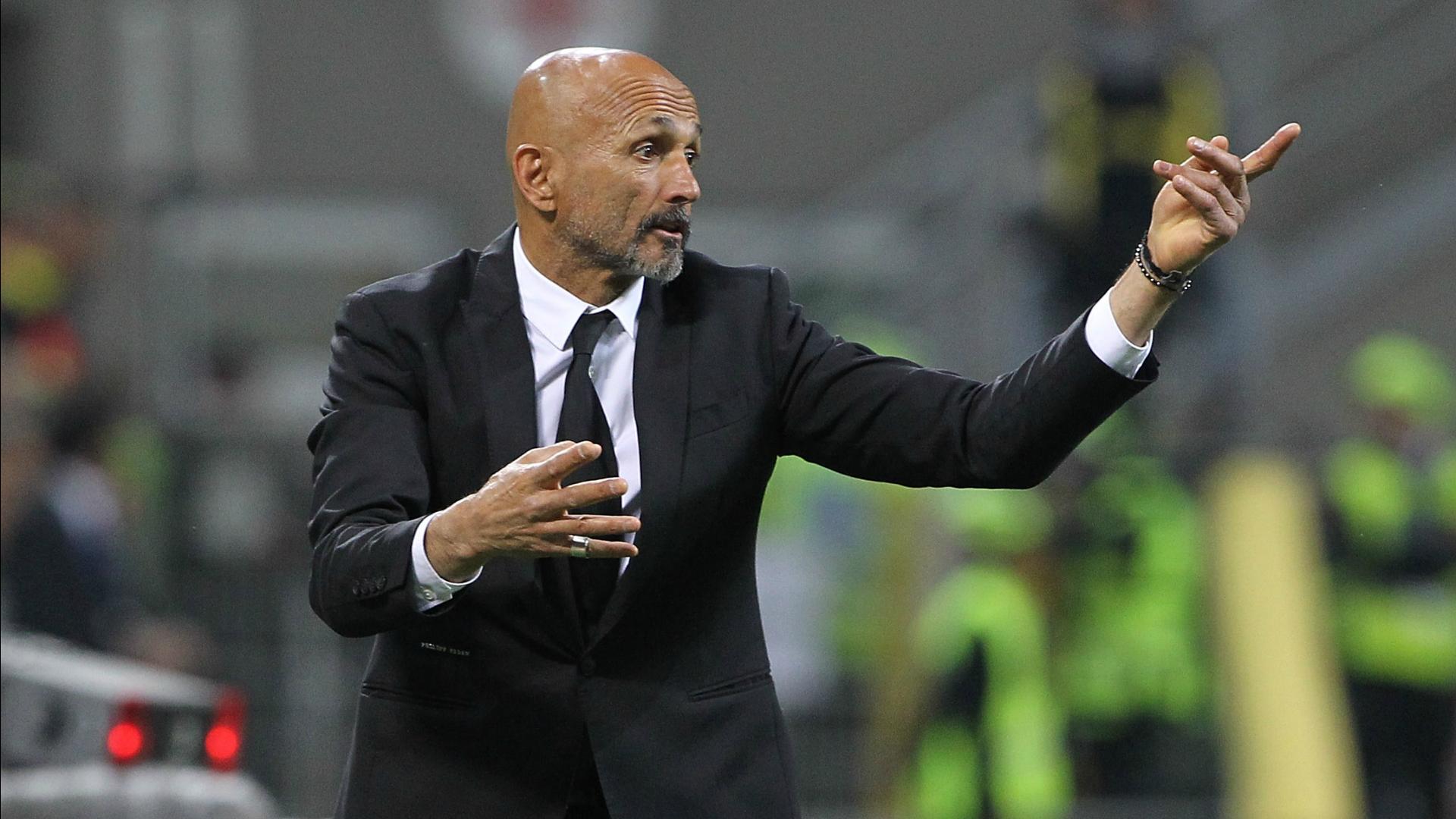 Luciano Spalletti Roma Serie A 2016-17