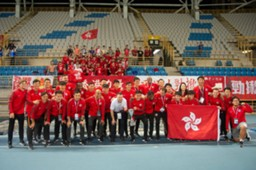 EAFF Championship, Hong Kong qualified for the final round.