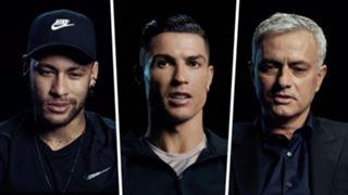 Neymar Cristiano Ronaldo Jose Mourinho GFX